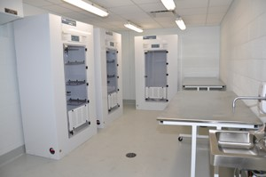 Incubators at the Crime Lab