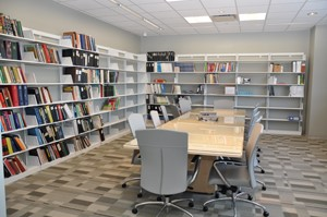 Library room of Crime Lab